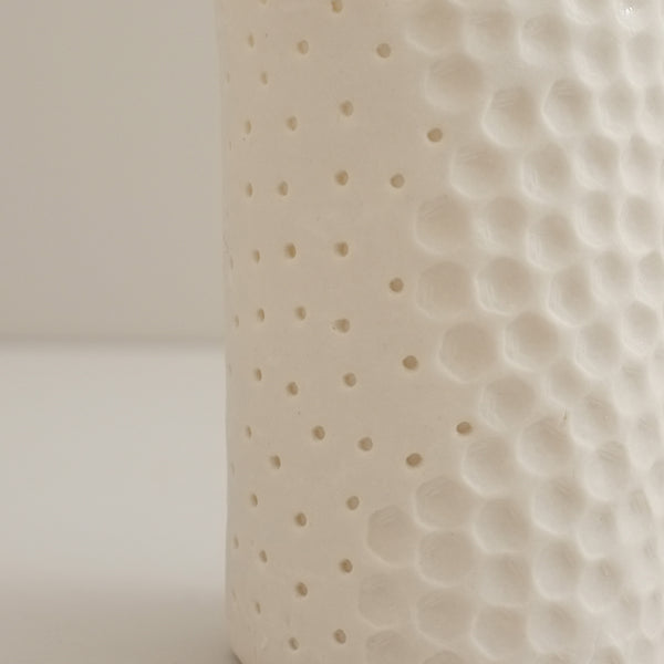 Porcelain Tea Light Candle Holder, Spots