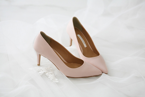 SHOES DE BLANC 韓國婚鞋 SB0007PLS | SHOES DE BLANC Korea Wedding Shoes SB0007PLS