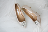 SHOES DE BLANC 韓國婚鞋 SB0007BLS | SHOES DE BLANC Korea Wedding Shoes SB0007BLS
