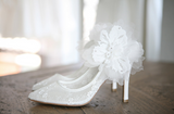 SHOES DE BLANC 韓國婚鞋 SB0009 | SHOES DE BLANC Korea Wedding Shoes SB0009