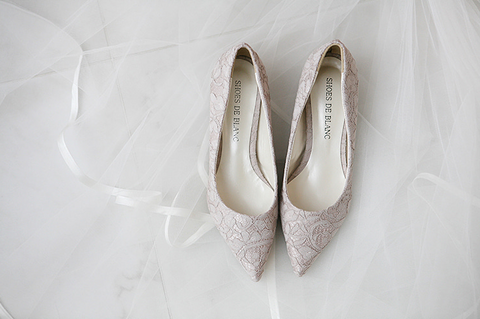 SHOES DE BLANC 韓國婚鞋 SB0003LSBG | SHOES DE BLANC Korea Wedding Shoes SB0003LSBG