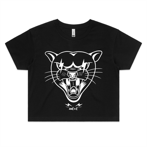AWFxCF Thunder Cat Custom Crop Tee