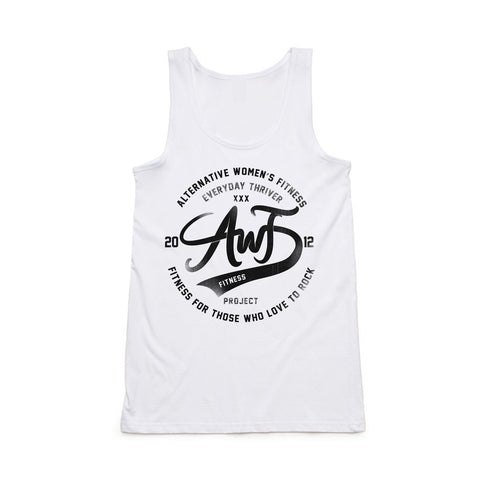 AWF Thrive Tank Top - white