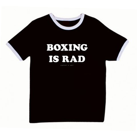 AXA BOXING IS RAD RINGER TEE (available) - 10