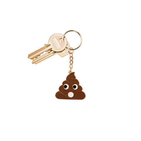 Poo Keyring (available)