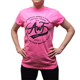 P!NK AWF THRIVE TEE (available) - S