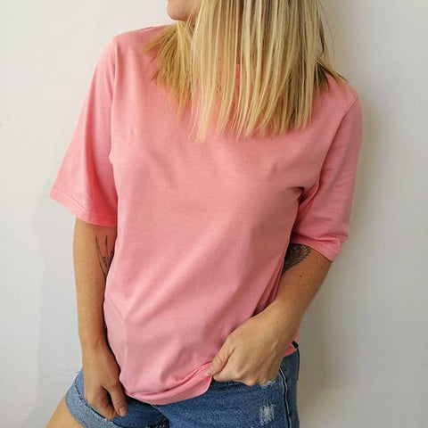MIA TEE - Washed Pink