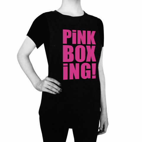 Pink Boxing Tee