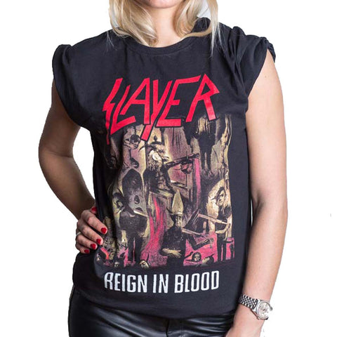 SLAYER REIGN IN BLOOD TEE (pre-order)