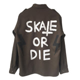 Skate Or Die Military Jacket