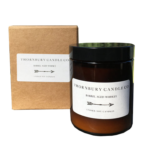 Barrel Aged Whiskey Candle - Medium