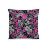 FLORAL VS. POLKA DOT CUSTOM CUSHION