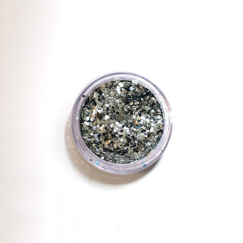 GREENPOINT GLITTER CHUNKY SILVER