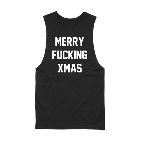 Merry Fucking Xmas MUSCLE TANK