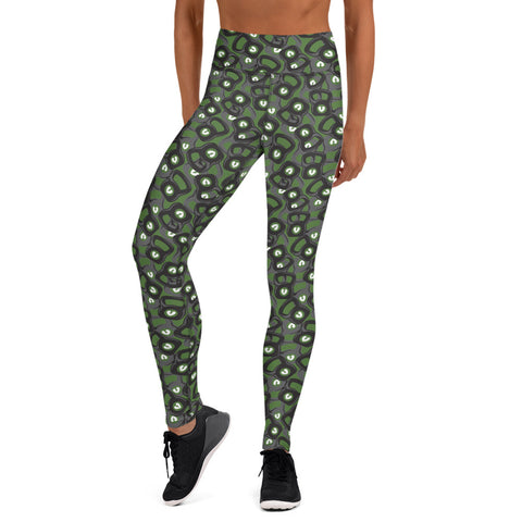 Kettle Belle Custom Leggings (GREEN)