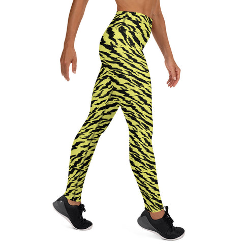 Tiger Fierce Custom Leggings