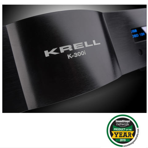 Krell K-300i gets Product of the Year 2019 reward