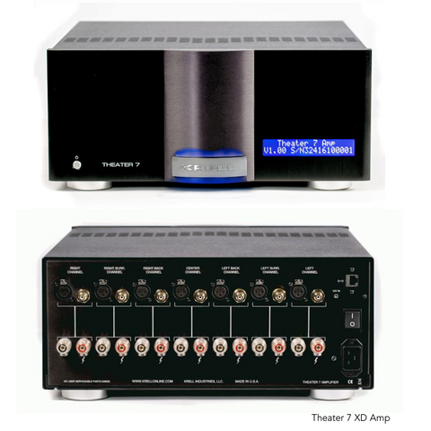 Krell Multi-Channel Amps