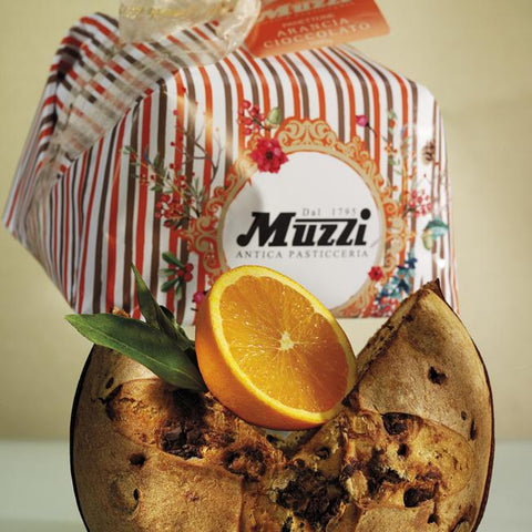 Panettone Orange Cream & Chocolate - Muzzi Antica Pasticceria