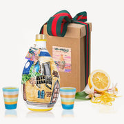 'Romeo & Juliet Memoritaly' - Handmade Jar Limoncello and two Glasses