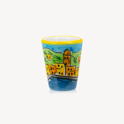 Memoritaly Portofino Handmade Painted Glasses (2 pcs)