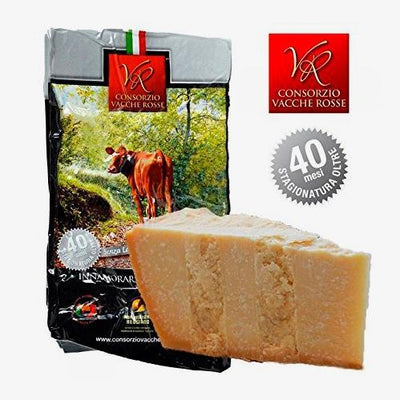"Parmigiano Reggiano PDO""Vacche Rosse/Red cows"" seasoned 40/48 months"