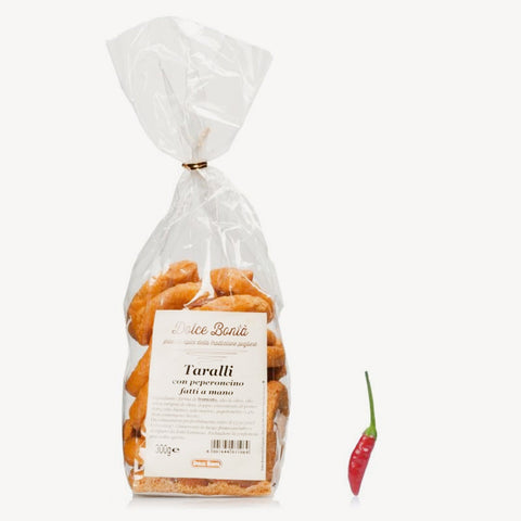 Taralli with Chili of Pugliese Tradition
