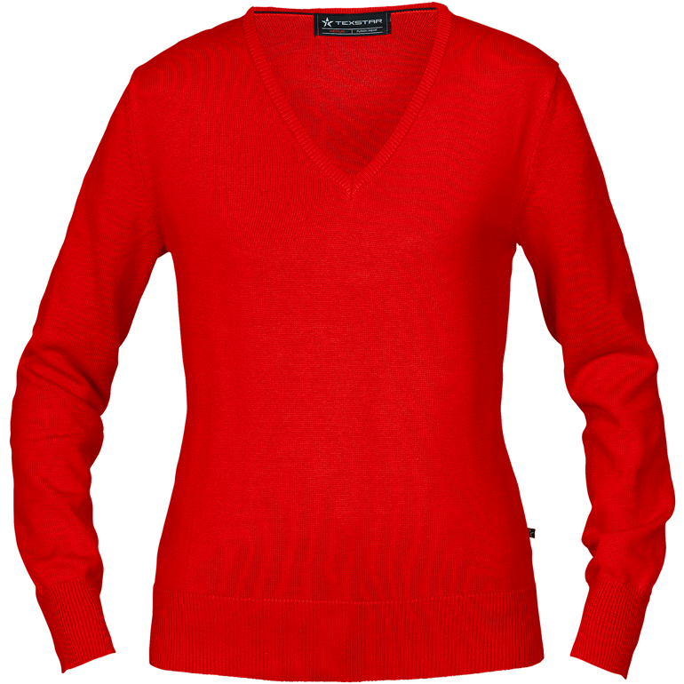PW01 | WOMEN'S PULLOVER V-NECK | TEXSTAR-Workwear Restyle