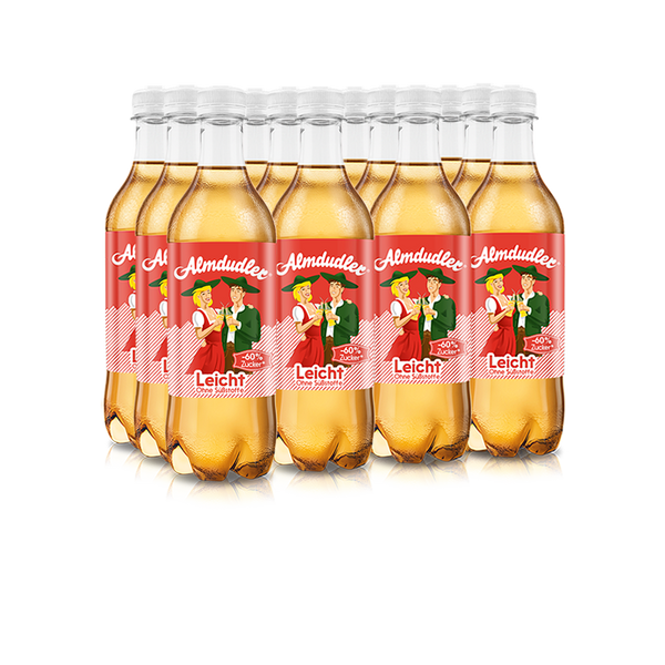 12 x 500ml Almdudler Light