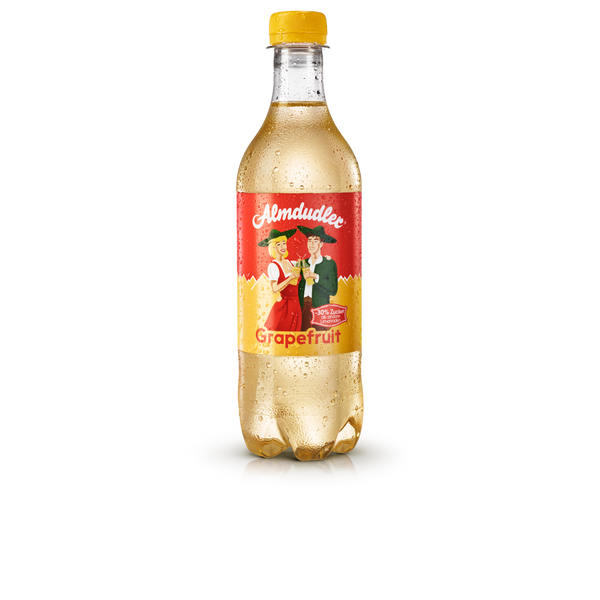 12 x 500ml Almdudler with grapefruit