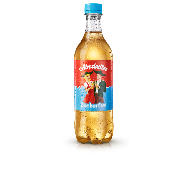 12 x 500ml Almdudler Sugarfree