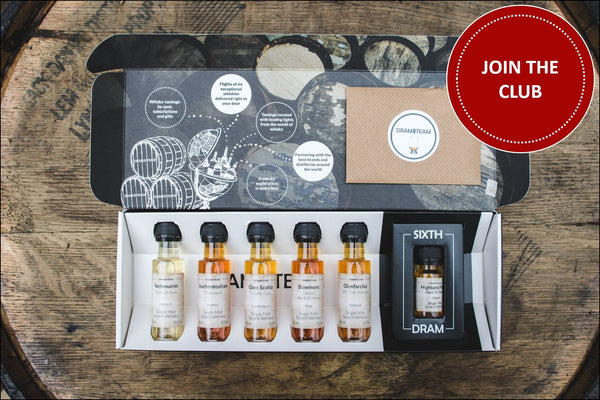 Join our Whisky Tasting Club
