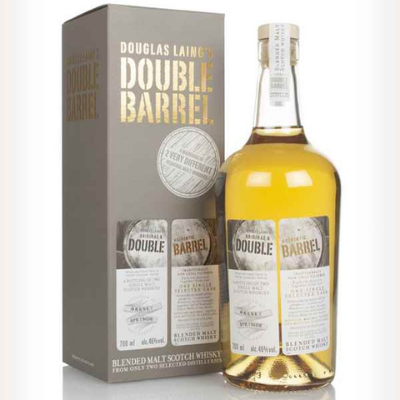 Douglas Laing double barrel, one of our favourite whiskies