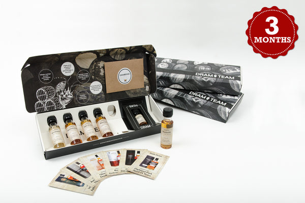The Dram Team - 3 Month Gift Subscription - The Dram Team - 1