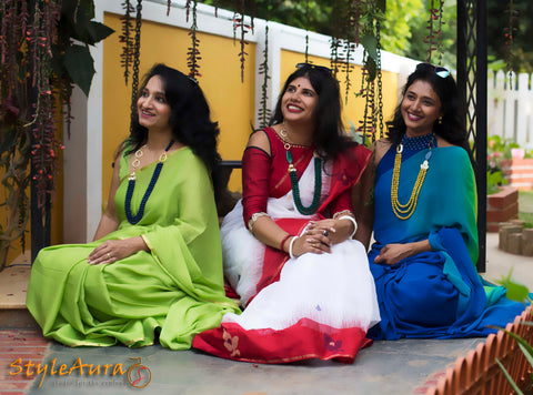 StyleAura - Group Shot - Geetha, Shilpa and Mousumi