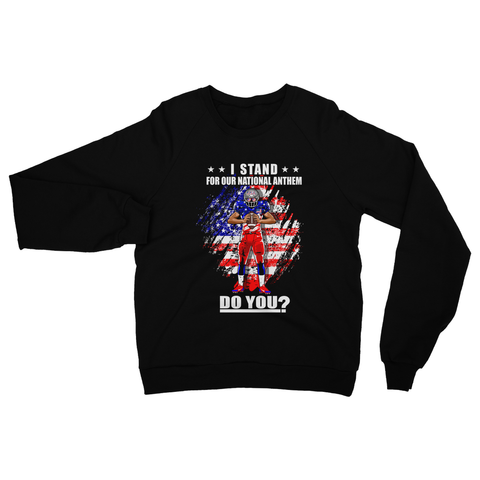 Stand for National Anthem Heavy Blend Crew Neck Sweatshirt