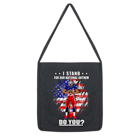 Stand for National Anthem Tote Bag