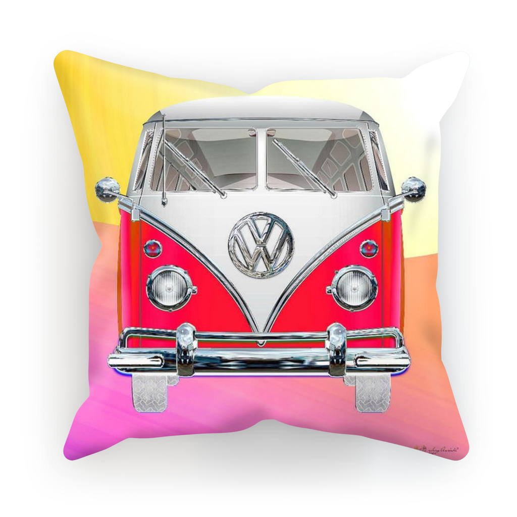 Volkswagen Red Cushion