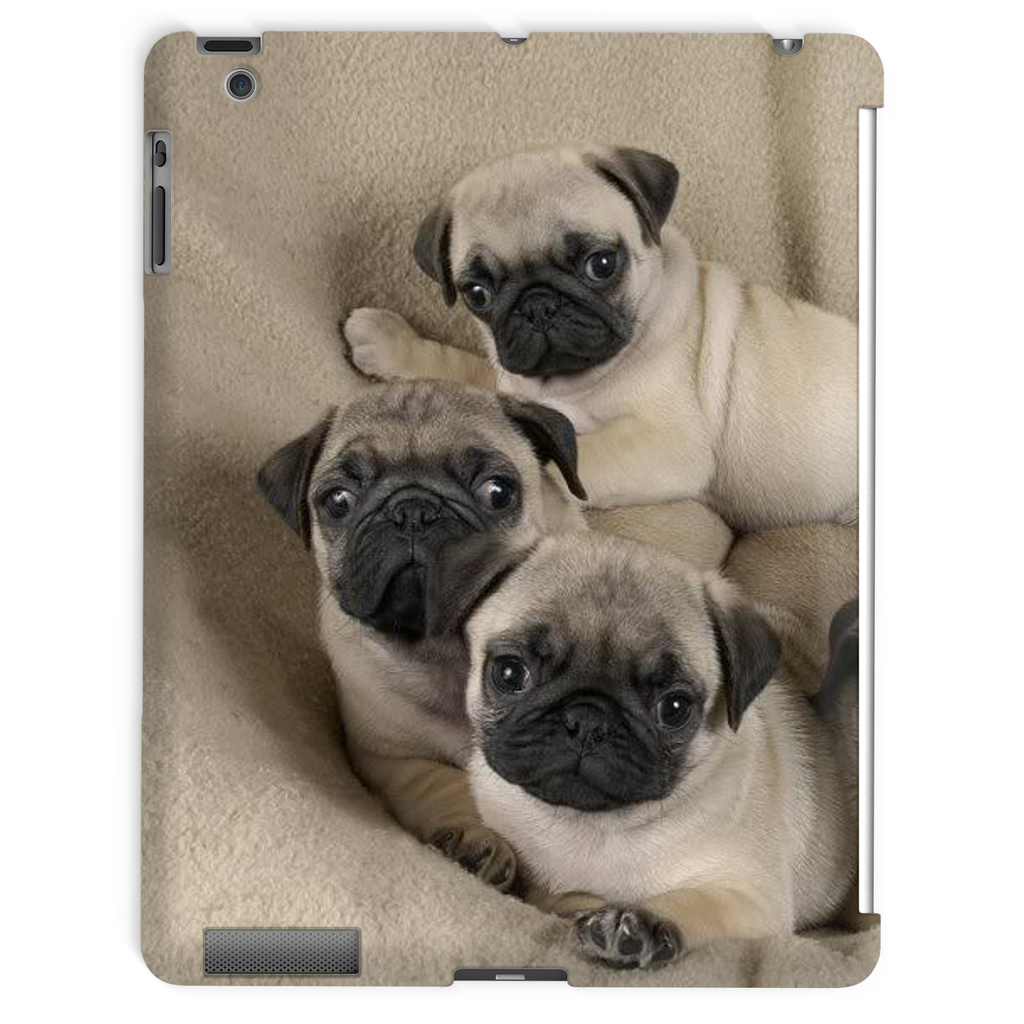 Cute Pugs Tablet Case
