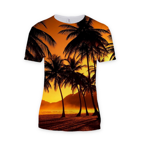 Palm Trees Sublimation T-Shirt