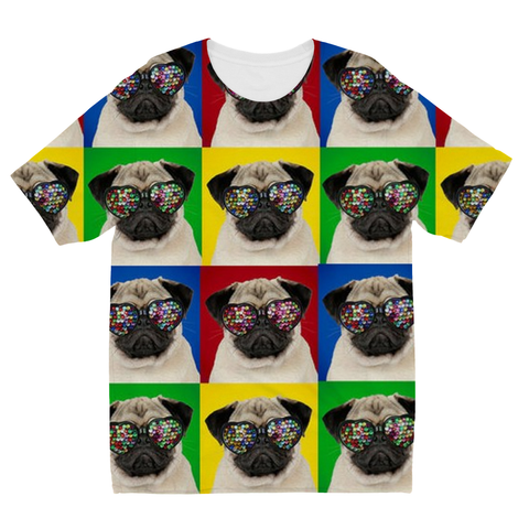 Cool Pugs Kids Sublimation TShirt - Cool Pugs