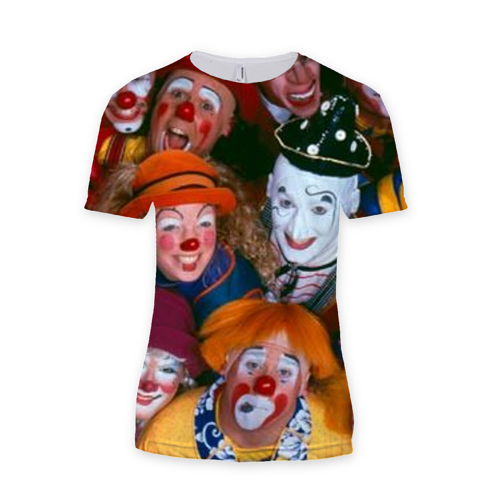 Clown Tee - Shirts Sublimation T-Shirt