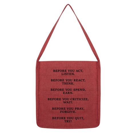 DON'T QUIT QUOTE 2 Tote Bag
