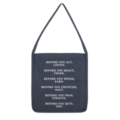 DON'T QUIT QUOTE 1 Tote Bag