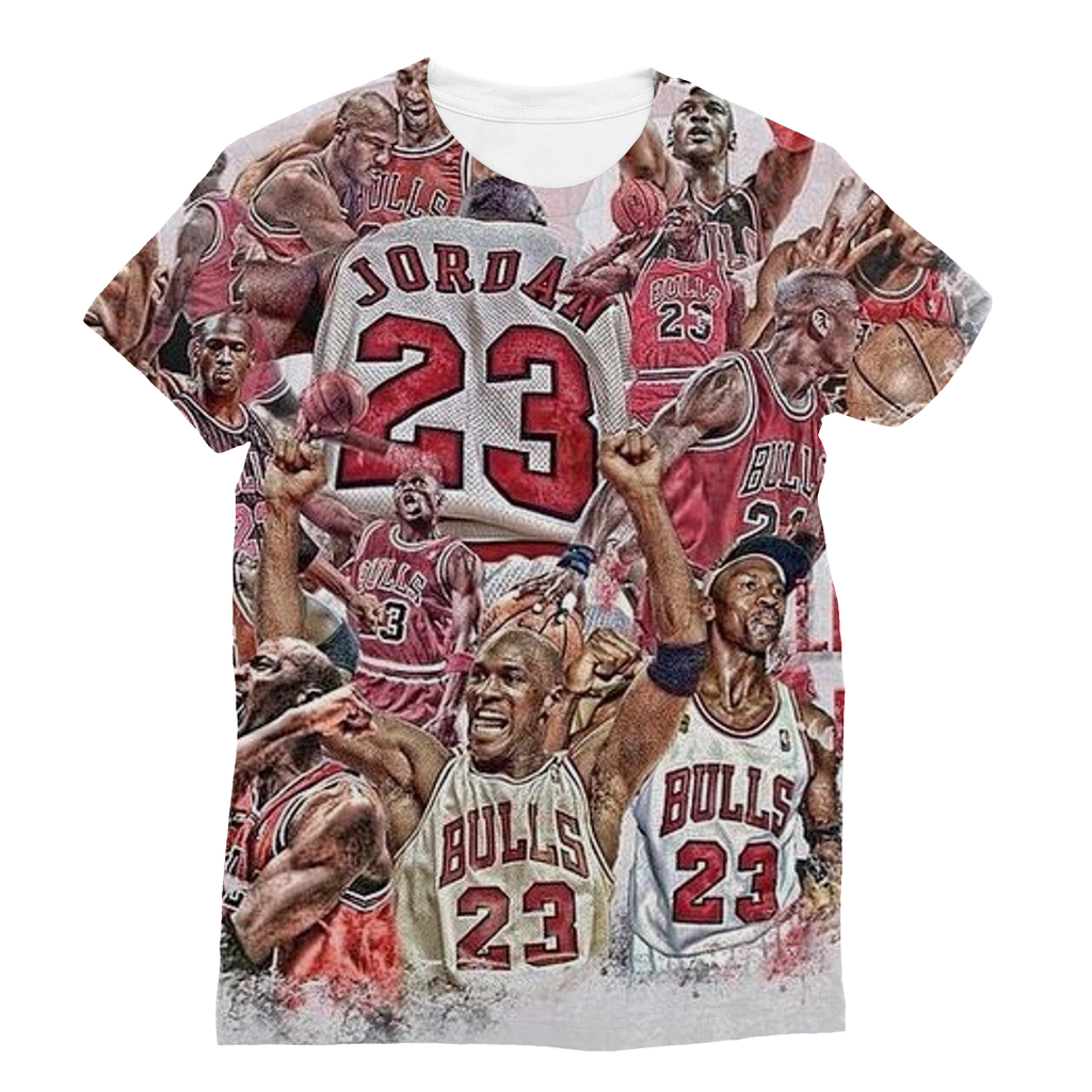 Bull - Jordan Sublimation T-Shirt