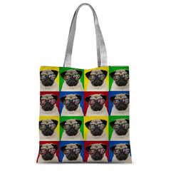 Cool Pugs Tote Bag