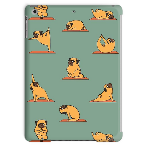 Pug Yoga Tablet Case