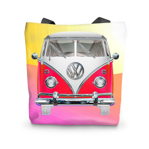 Volkswagen Red Tote Bag