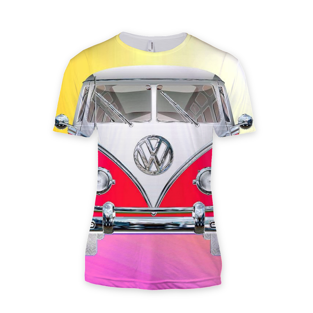 Volkswagen Red Sublimation T-Shirt