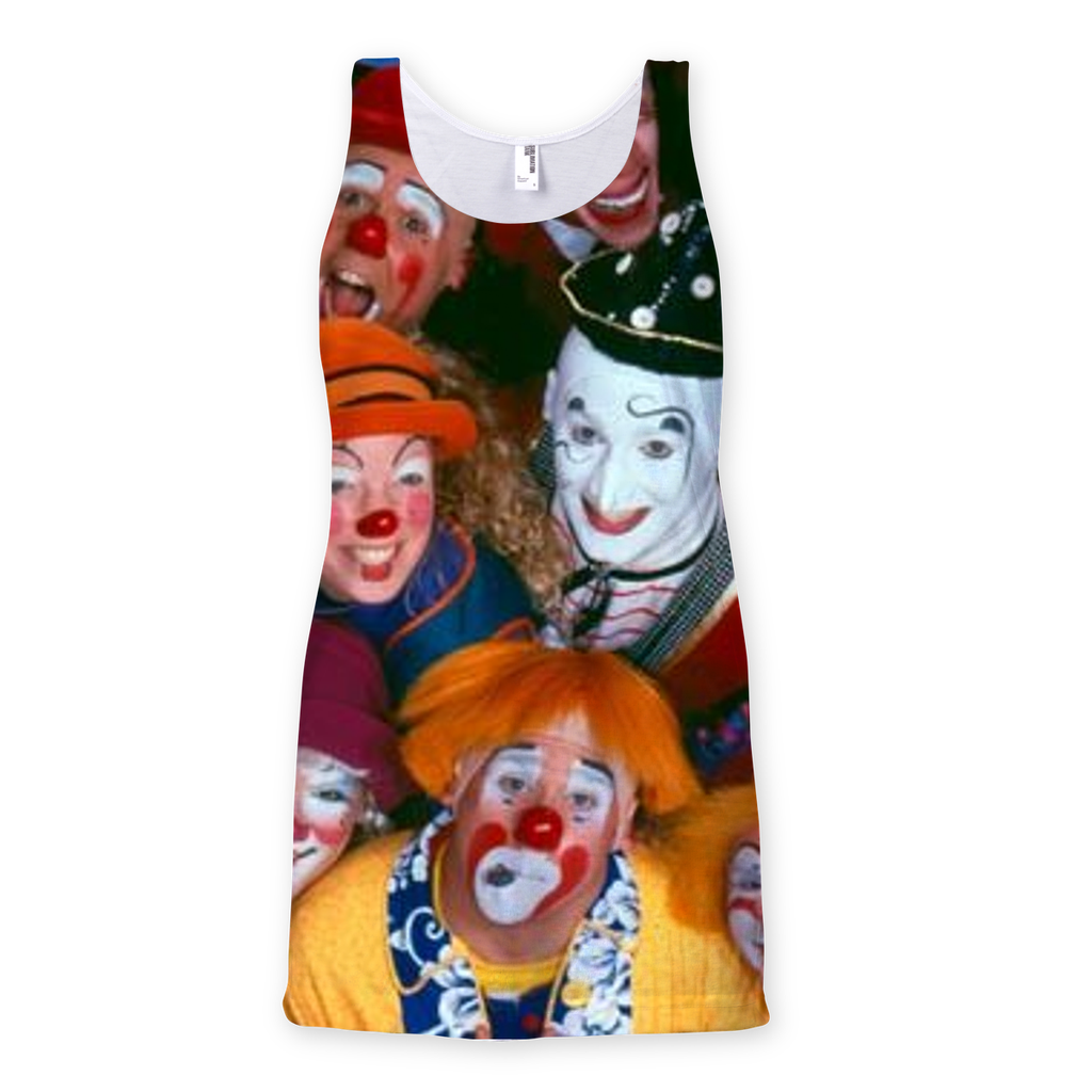 Clown Tee - Shirts Sublimation Vest